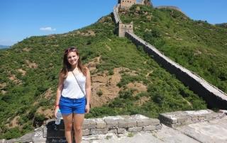 chloe great wall of china