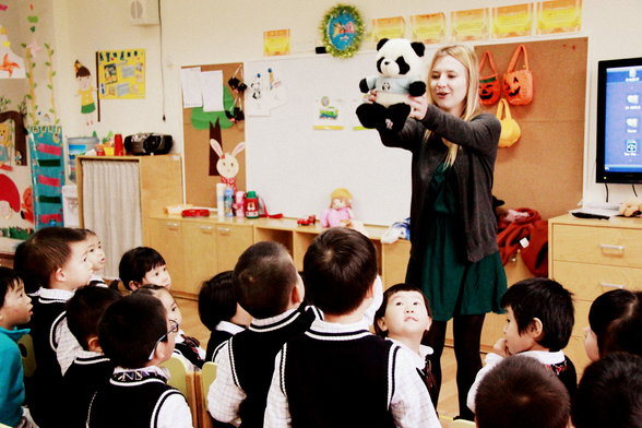 Adapting To Work In A Chinese Kindergarten Teach English