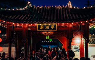 celebrate Chinese new year in China