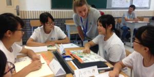 English teaching job in China
