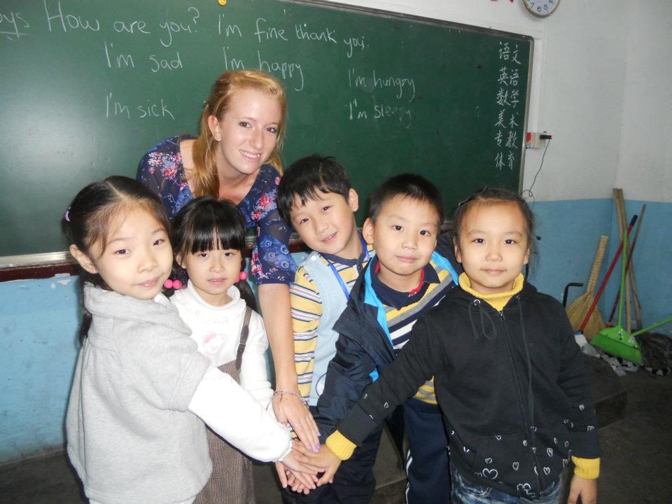 teaching English in a Chinese primary school