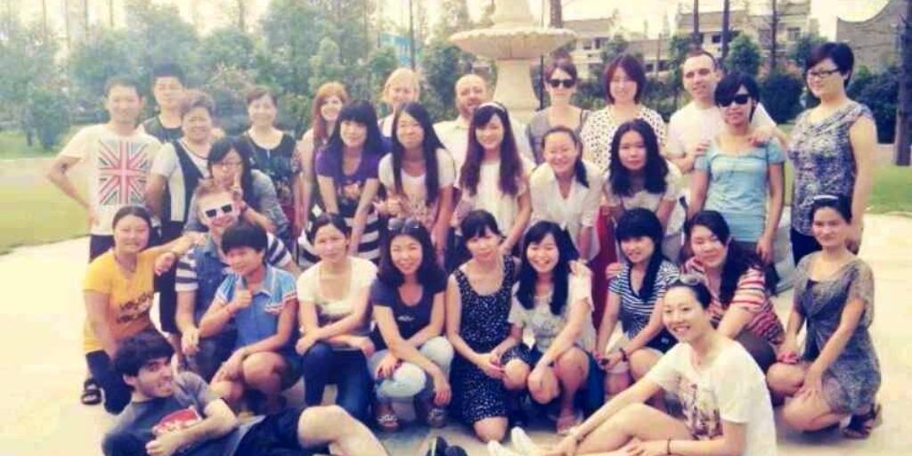 teach in a private school in China
