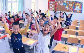 teach english in a chinese school