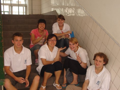 teaching english in china with other foreigners