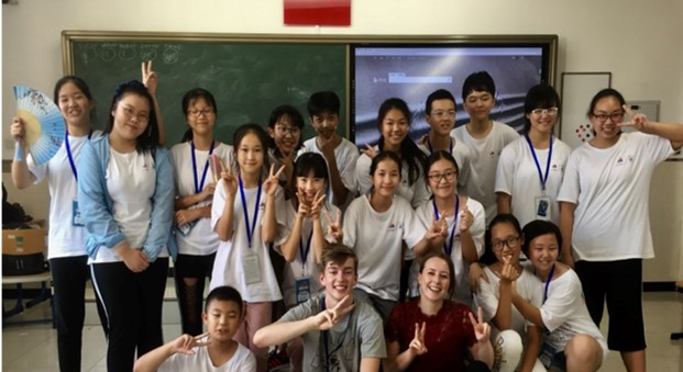 Teach in China training camps
