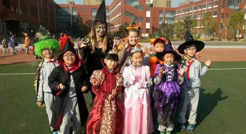 Halloween celebrations in China