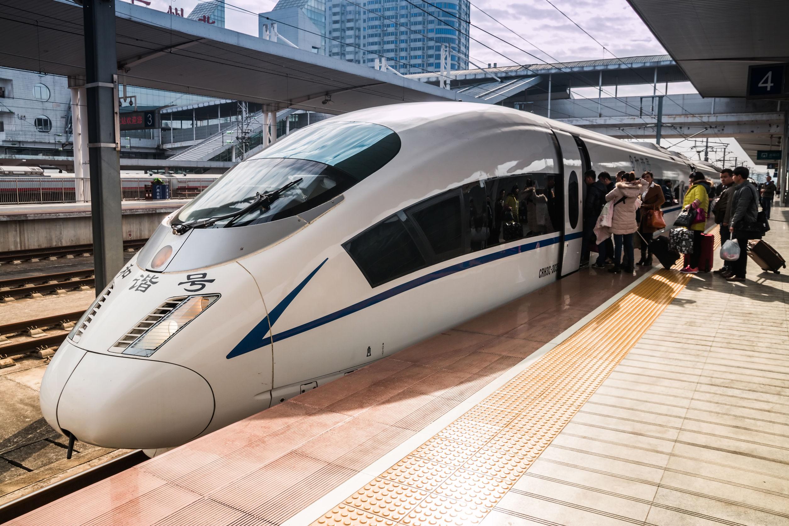 china's high speed rail