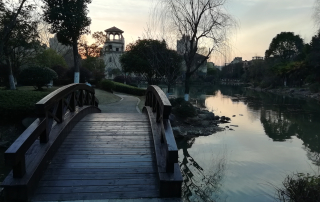 living in Suzhou, China
