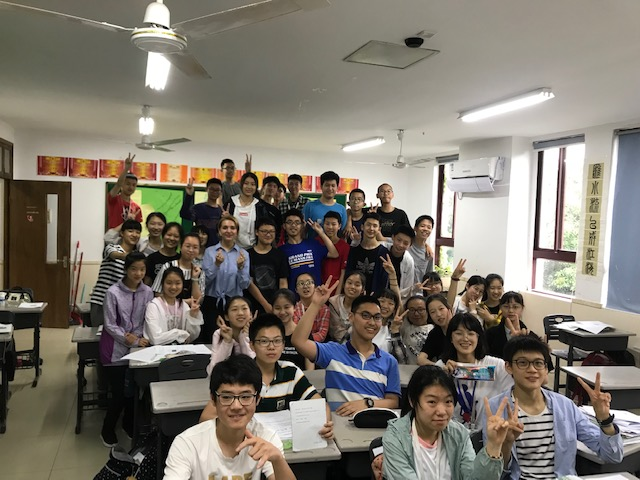 middle school teaching in china