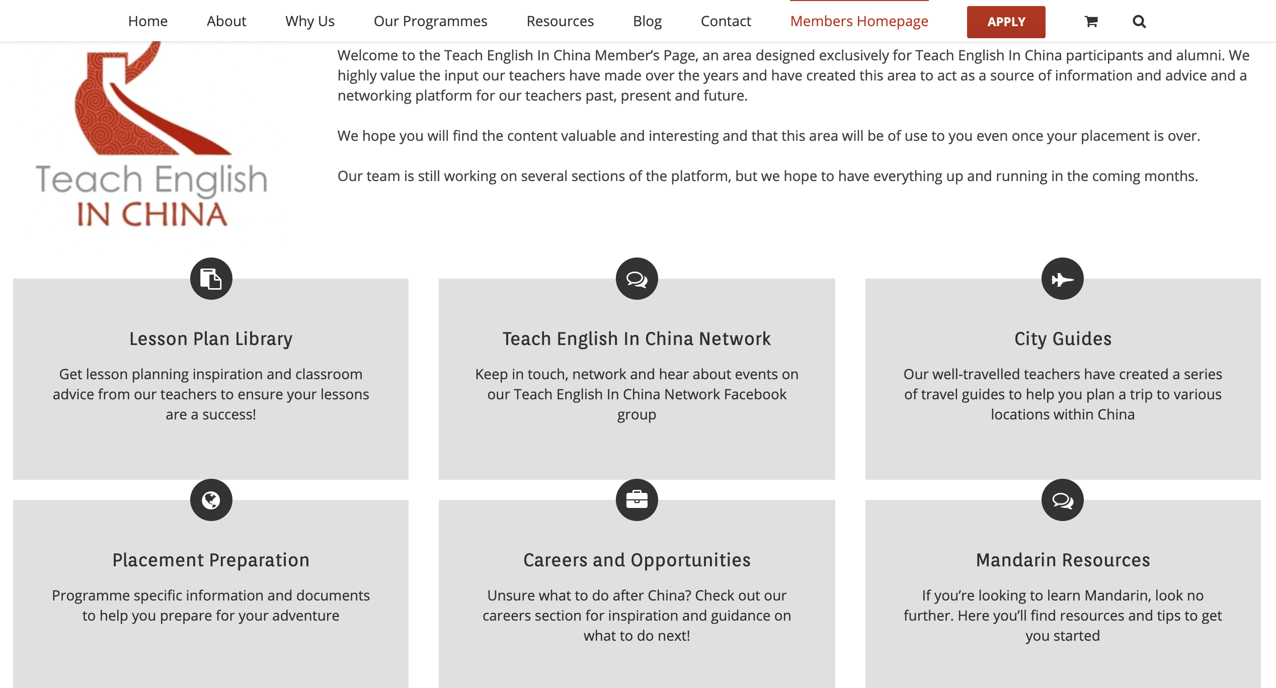 english teaching companies china